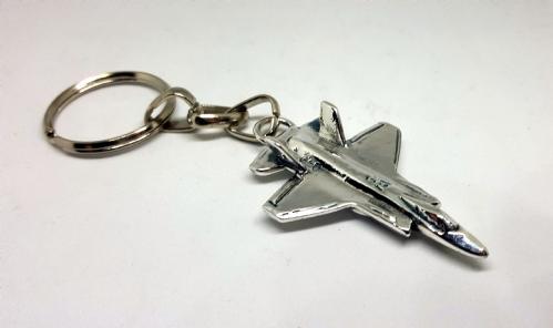 F-35 מחזיק מפתחות מכסף