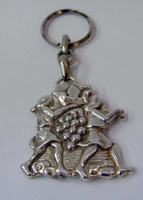 "Silver ""Spy"" Key Chain"