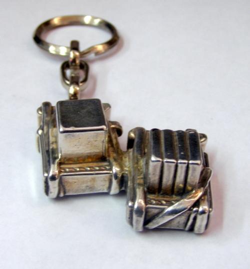 Silver Tfilin Key Chain