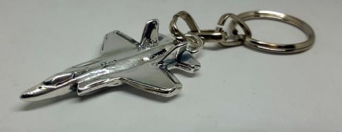 F-35 Silver Key Chain